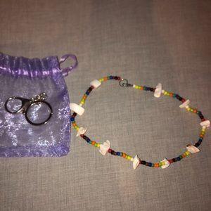 Big necklace handmade